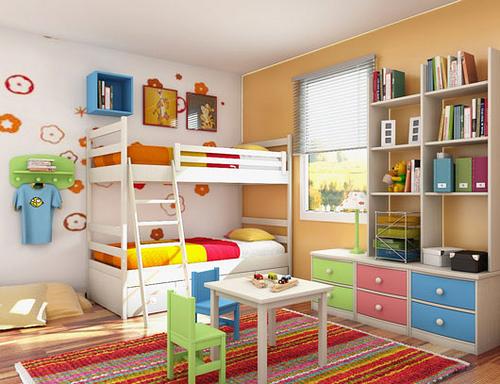 Jak udekorować ściany w pokoju dziecka za pomocą tapety?